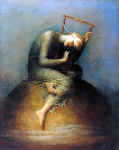 'Hope', George Frederic Watts. Dal ciclo 'House of Life', 1886